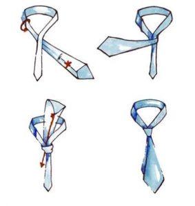 come fare nodo cravatta semplice